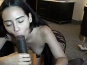 OMG amazing Colombian girl cannot stop cumming getting screwed by that black cock